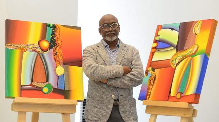 Bose Krishnamachari showcases his abstracts for the first time in Bengaluru